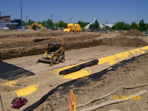 Longmont commerical excavation front range