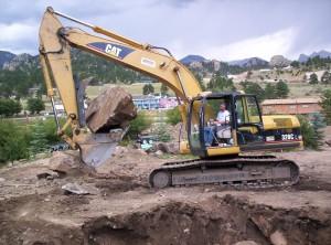 Longmont commerical excavation front range